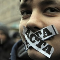 Protest Anti-ACTA in Oradea